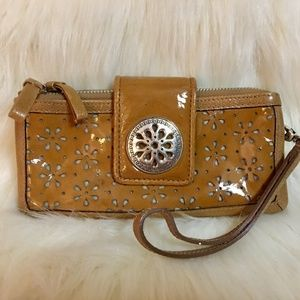 SOLD! BRIGHTON Leather PALM DESERT Wristlet Wallet